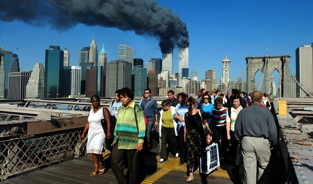 Erik Borgman: 'Ik verwacht dat er bij het herinneren van de coronacrisis iets soortgelijks gebeurt als na de aanslagen op 11 september 2001.'  (beeld Henny Ray Abrams)