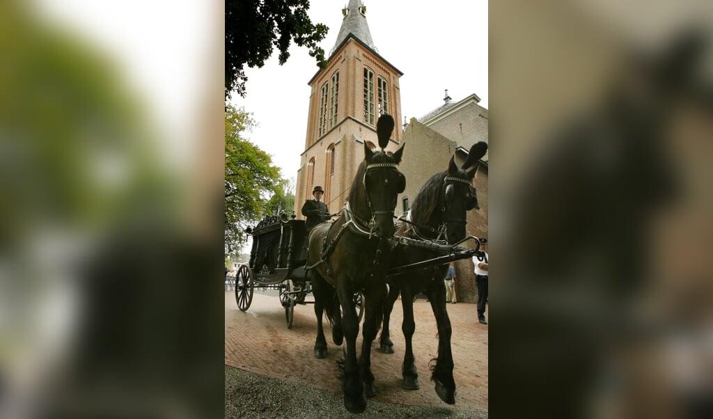 De Hervormde kerk in Veendam.  (beeld anp)