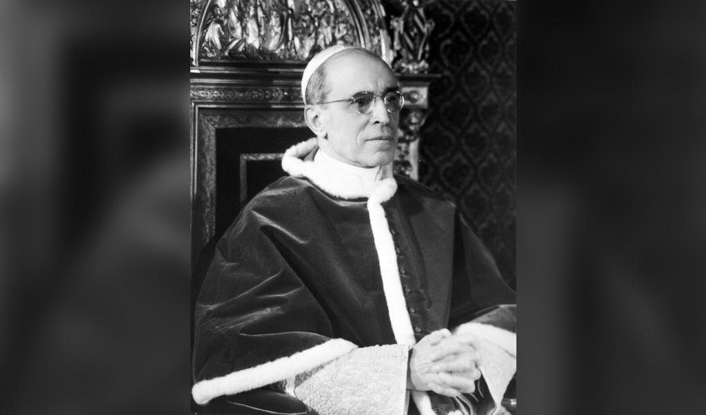 'Oorlogspaus' Pius XII (1939-1958)  (beeld EPA)