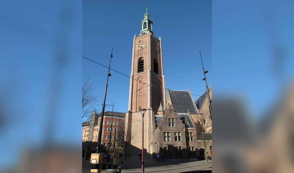 De Grote of Sint-Jacobskerk.  (beeld Michiel Verbeek)