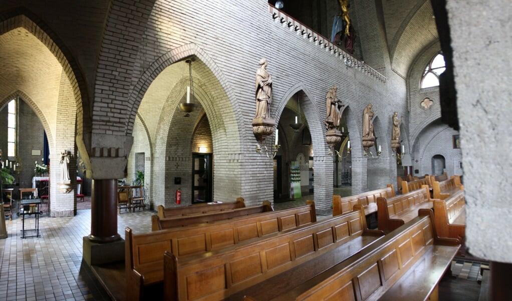 De rooms-katholieke kerk in St-Michielgestel  (beeld wikipedia)