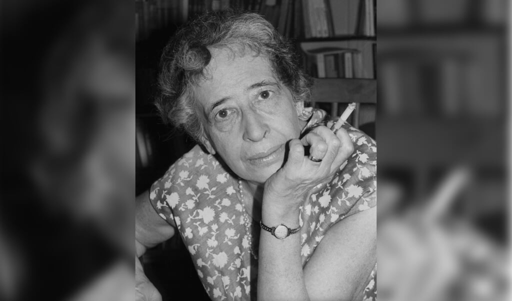 Hannah Arendt in 1949.  (beeld Getty Images)