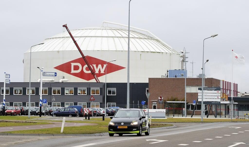 Regio's met een grote chemische industrie profiteren van globalisering, zoals rond DOW chemical in Terneuzen.  ( beeld  anp XTRA)