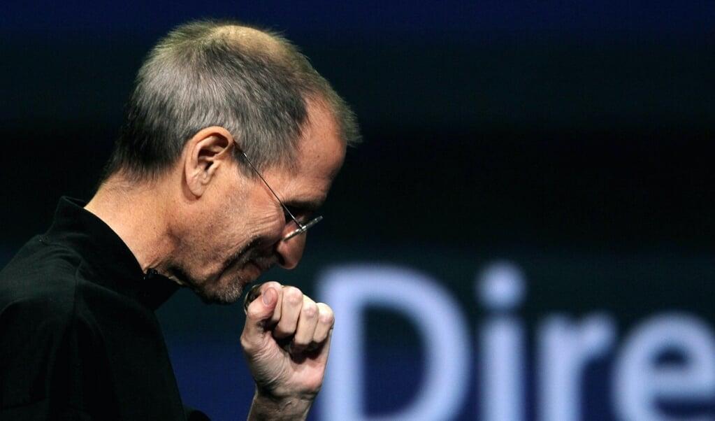 <p>Steve Jobs in 2011.</p>  (beeld afp / Justin Sullivan)