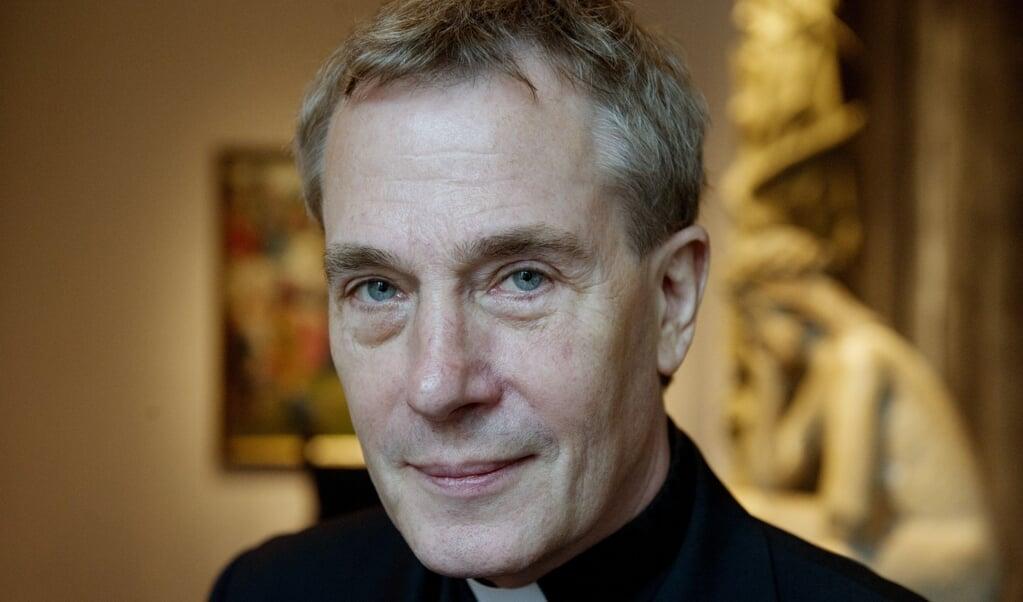 Antoine Bodar, erekanunnik van het kapittel van het bisdom Haarlem-Amsterdam.  (beeld anp / Freek van Asperen)