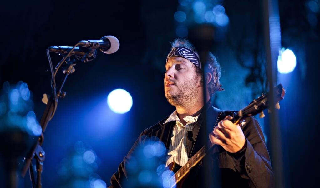 Hét icoon van de indiefolk is de Amerikaanse singer-songwriter Bon Iver, de artiestennaam van Justin Vernon.  (beeld afp)