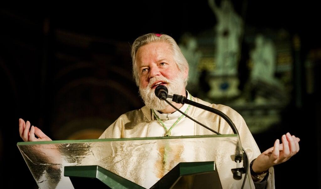 De rooms-katholieke bisschop Jos Punt van Haarlem-Amsterdam.  (beeld anp / Robin van Lonkhuijsen)