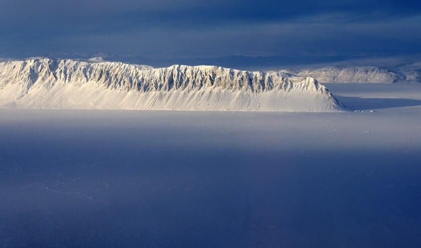 IJsplateau Milne Ice Shelf.  (beeld epa)