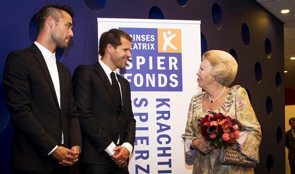 Het Prinses Beatrix Spierfonds verloor 37 procent van de reputatie na een naamswijziging.   (beeld anp / Royal Images Remko de Waal)
