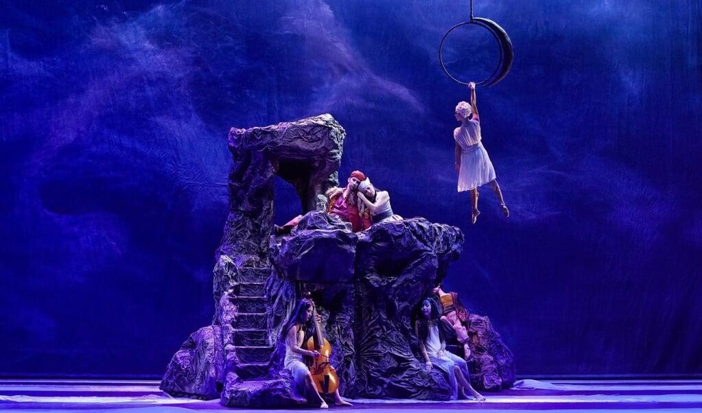Een uitvoering (2015) van Henry Purcells opera Dido and Aeneas.   (beeld epa)