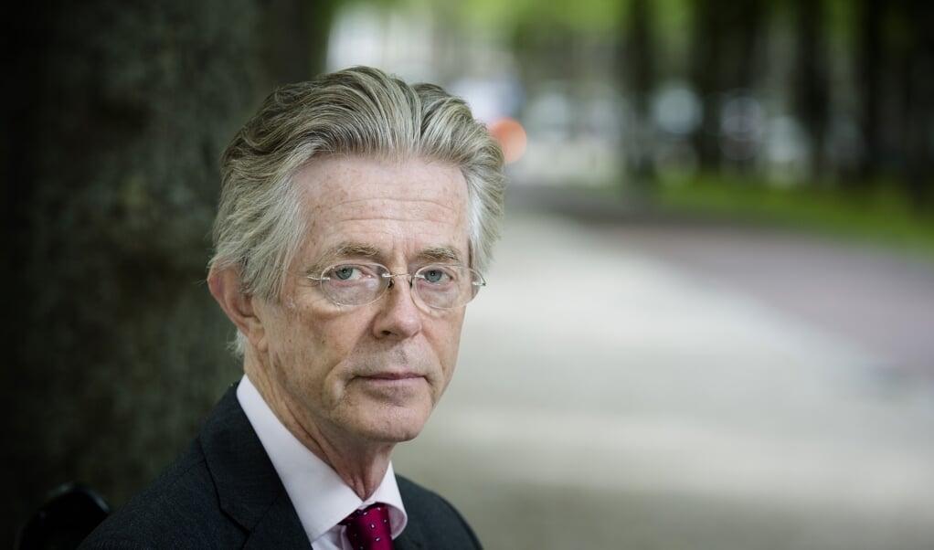 Oud-minister van Defensie Joris Voorhoeve: 'Als afschrikking werkt, valt er geen enkele dode.'   (beeld anp / Bart Maat)