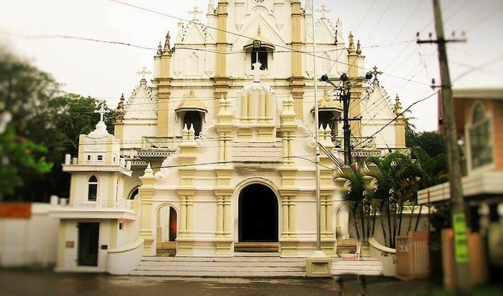 De Jacobitische kerk in Kandanad (Kerala, India)  (beeld wikipedia)