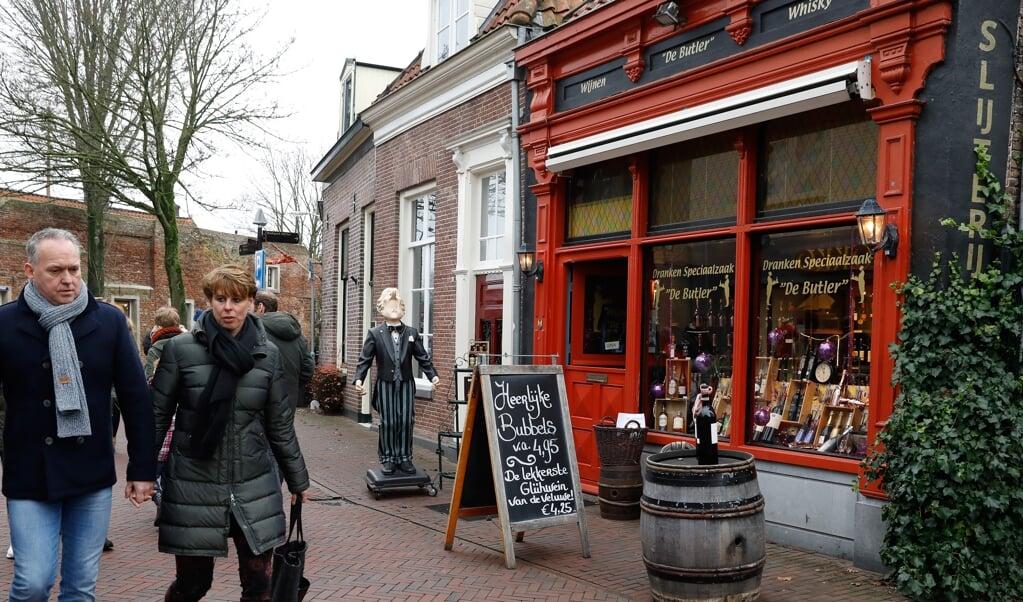 In Harderwijk, nabij Elburg, was rond kerst 2017 de tweede koopzondag.  (beeld anp / Bas Czerwinski)