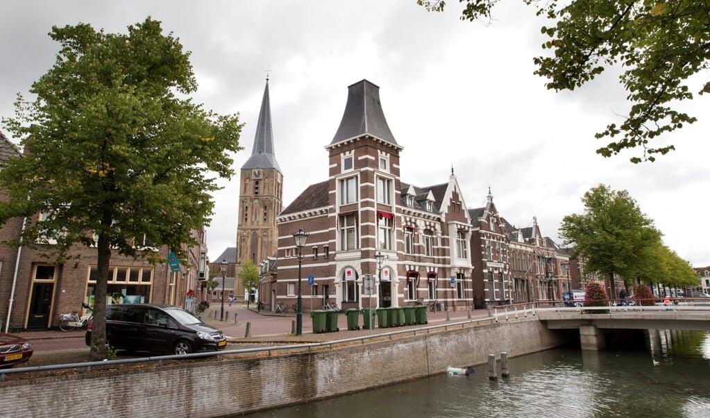 De historische Bovenkerk in Kampen.   (beeld Anton Dommerholt)