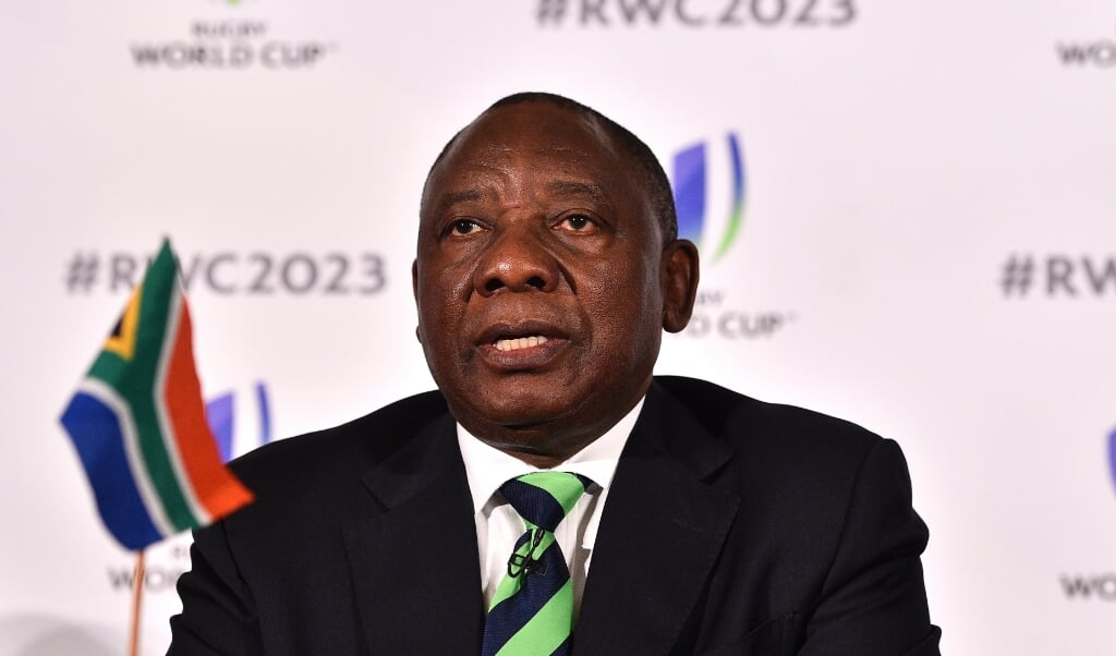 Cyril Ramaphosa  (beeld afp / Glyn Kirk)
