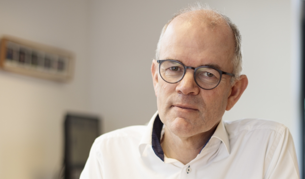 Piet Vergunst, algemeen secretaris van de Gereformeerde Bond in de Protestantse Kerk.  (beeld Dick Vos)