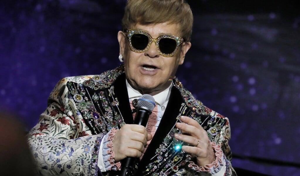 De Britse zanger Elton John.  (epa)