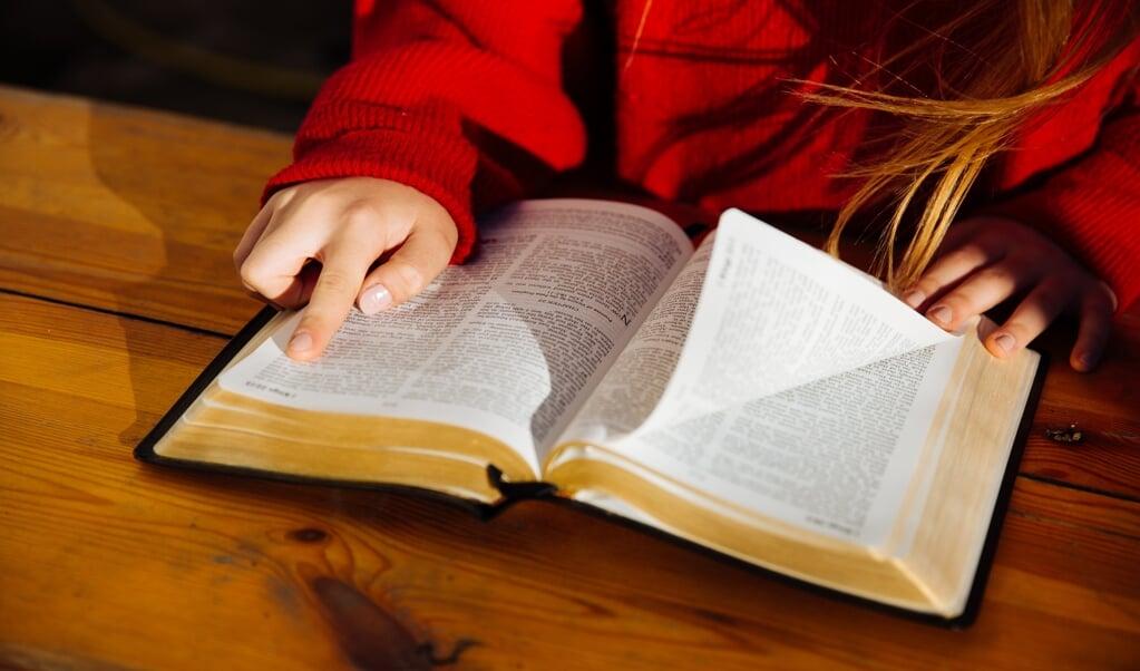 60 procent van de bijbellezers doet dit het liefst alleen.  (beeld istock)