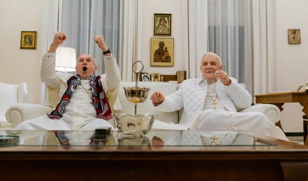 Strijd verbroedert: de WK-finale Duitsland-Argentinië als metafoor voor de Kerk.  (beeld Peter Mountain)