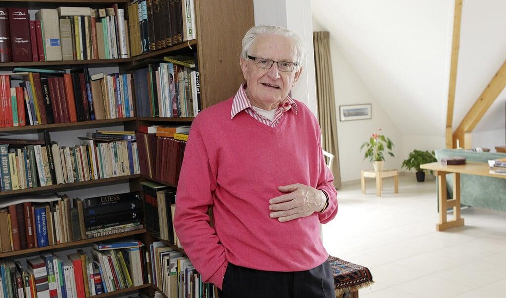 Jochem Douma is op 88-jarige leeftijd overleden.  (beeld rd / Anton Dommerholt)
