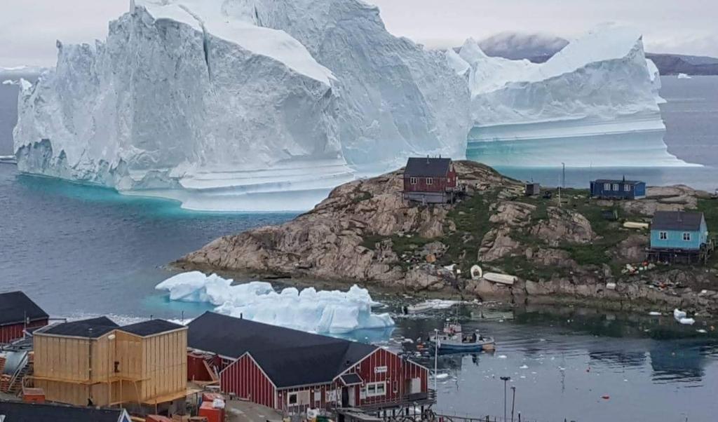 Sinds 1992 heeft Groenland 3800 miljard ton ijs verloren.  (epa / Karl Petersen)