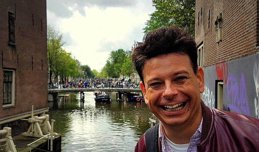 Dominee Alexander Noordijk.  (beeld pkn amsterdam)