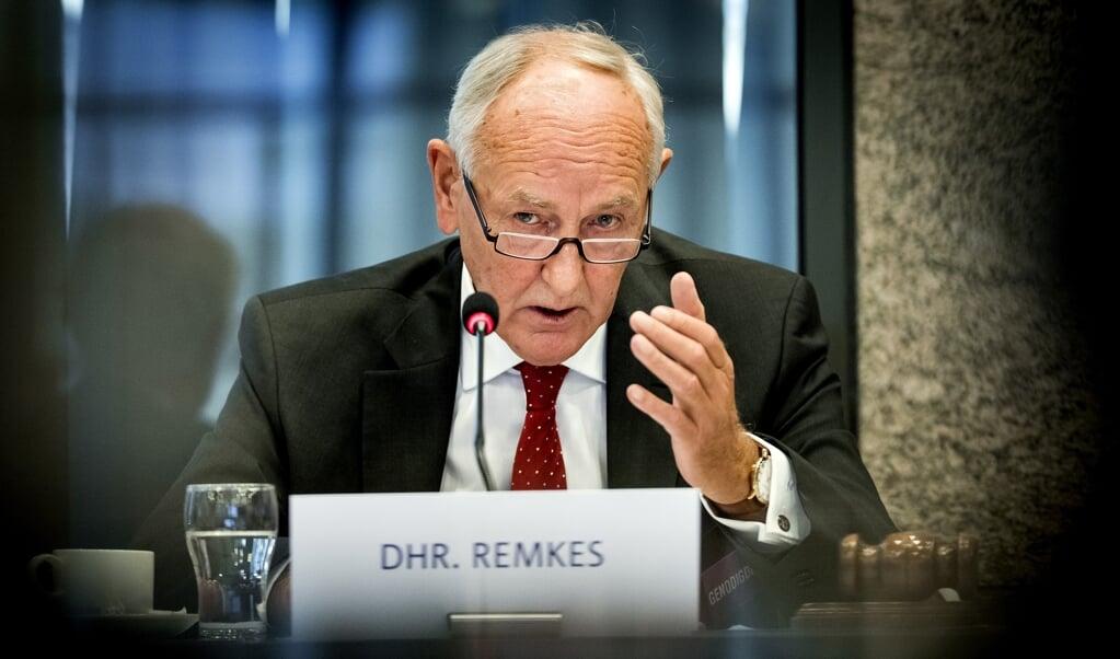 Johan Remkes, voorzitter van het Adviescollege Stikstofproblematiek.  (beeld anp / Koen van Weel)