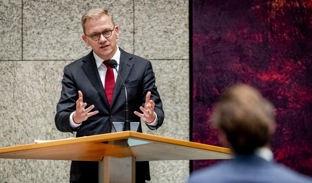 ChristenUnie-Kamerlid Eppo Bruins  (beeld anp / Sem van der Wal)