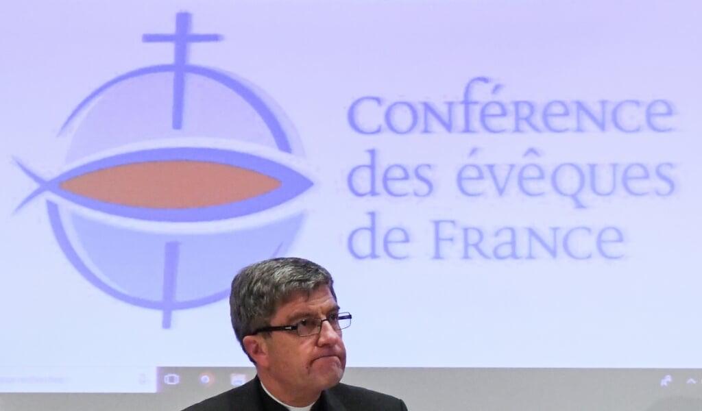 Aartsbisschop Eric de Moulins-Beaufort.  (beeld Pascal Pavani / afp)