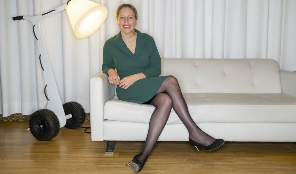 Minister Carola Schouten: 'Het gaat om de vraag wat voor ons van waarde is. Wat telt écht?'  (beeld David van Dam)
