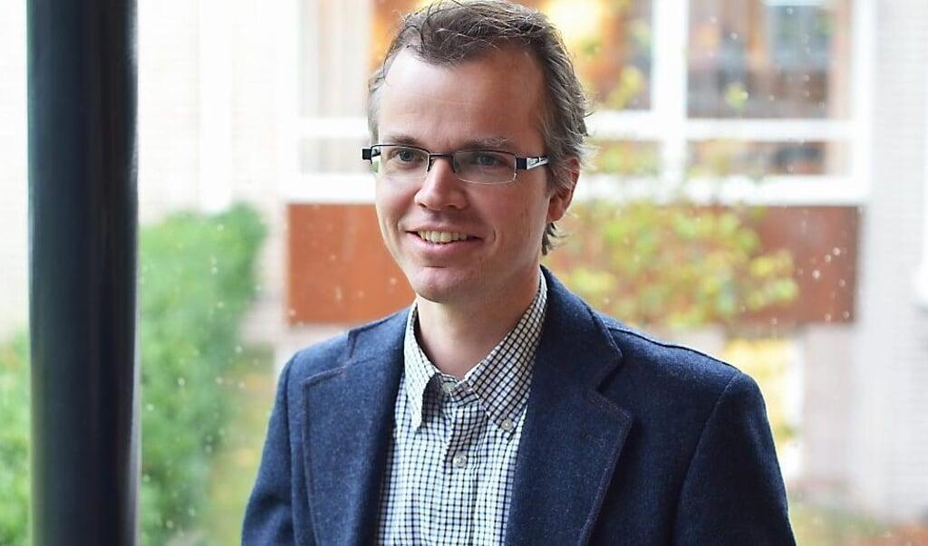 Hans Burger, universiteit docent TU Kampen  (beeld nd)