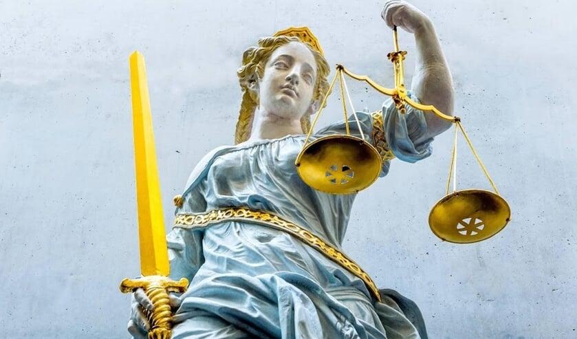 2015-09-17 13:32:17 ILLUSTRATIE - Een beeld van vrouwe Justitia. ANP XTRA LEX VAN LIESHOUT  ( beeld anp)