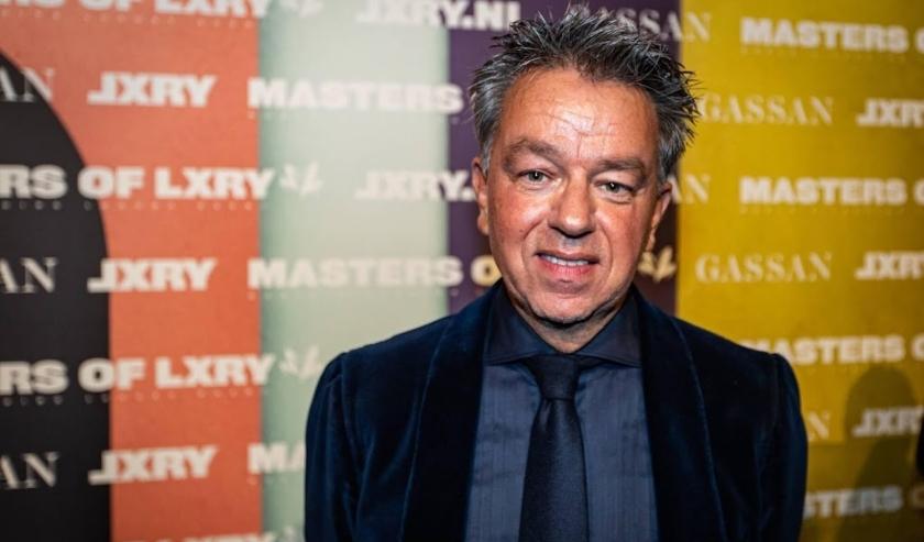 2019-12-12 21:20:56 AMSTERDAM - Yves Gijrath op de luxebeurs Masters of LXRY, een beurs die draait om luxe in de Amsterdam RAI. ANP KIPPA LEVIN DEN BOER  ( beeld anp)