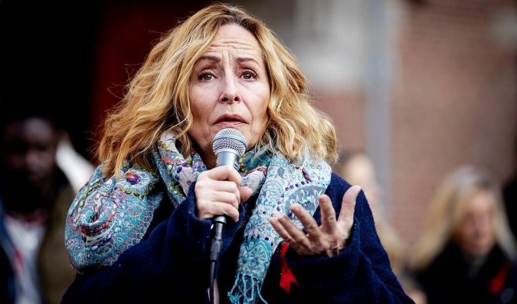 Angela Groothuizen.  ( beeld anp)