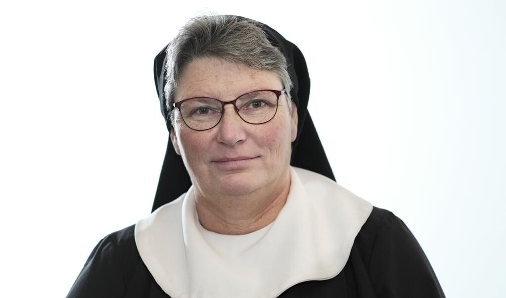 Zuster Monica Raassen  (beeld Dick Vos)