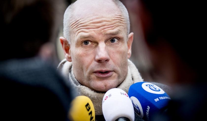 Minister Stef Blok  (beeld   anp / Koen van Weel)