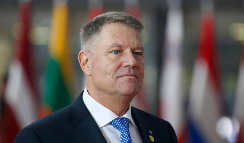 2019-12-12 15:22:03 epa08065534 President of Romania Klaus Werner Iohannis arrives for a European Council summit in Brussels, Belgium, 12 December 2019. An European Council meeting will be held in Brussels on 12 and 13 December during which the EU27 leade  ( beeld anp)