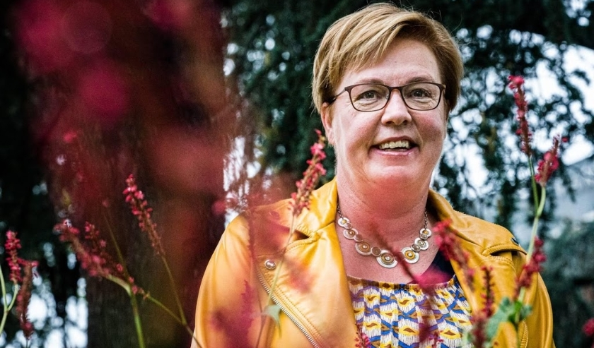 2019-10-04 12:14:22 EINDHOVEN - Portret van SP-raadslid Jannie Visscher. Het bestuur van de Socialistische Partij heeft haar voorgedragen als kandidaat-voorzitter. ANP ROB ENGELAAR  ( beeld anp)