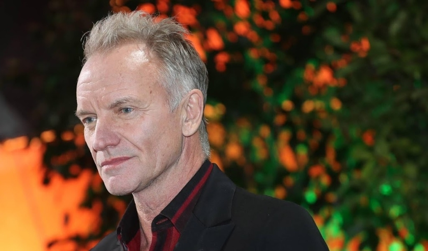 2019-11-22 18:39:16 epa08018121 British singer Sting arrives at the red carpet of the International Music Award (IMA) 2019 in Berlin, Germany, 22 November 2019. The IMA recognizes the efforts of artists to share their work with a statement independently o  ( beeld anp)