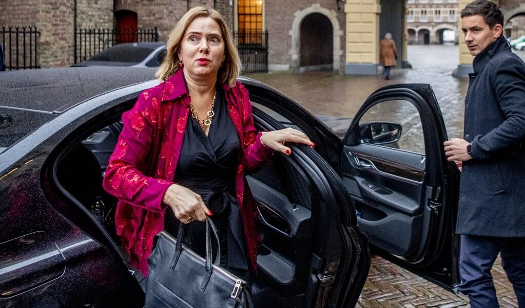Minister Cora van Nieuwenhuizen van Infrastructuur en Waterstaat (VVD).  (beeld anp / Robin Utrecht)