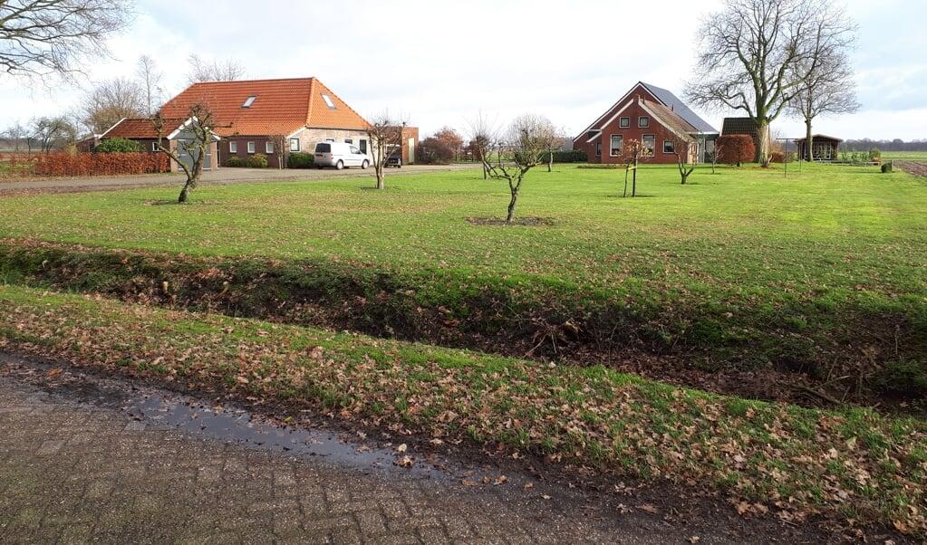 De ouderlijke boerderij van de familie Vos in Ellertshaar.  (beeld nd)