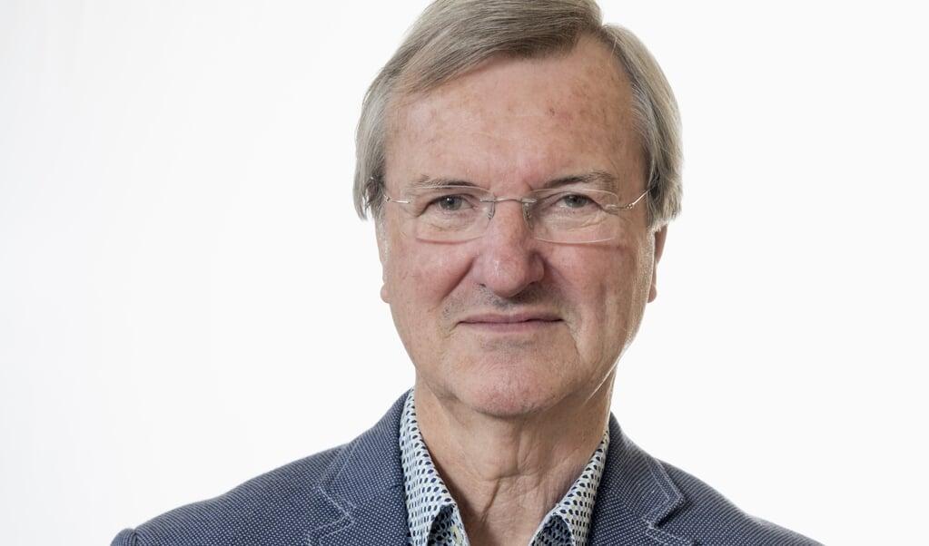Bram van de Beek is theoloog en emeritus hoogleraar symboliek aan de Vrije Universiteit. Hij schrijft op de eerste woensdag van de maand een column.   (beeld Dick Vos)