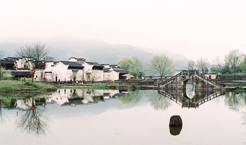Een foto die Jose Chan maakte tijdens een reis door China, met Nikon F3, Fujifilm Pro400H.  (beeld privébezit)