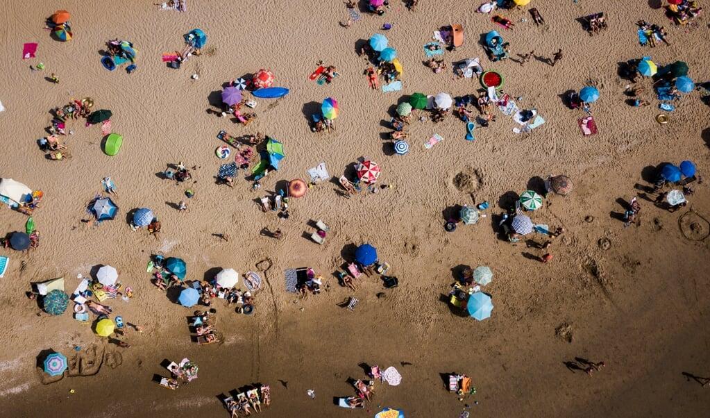 Er wordt drukte verwacht op de stranden.   (beeld anp / sem van der wal)