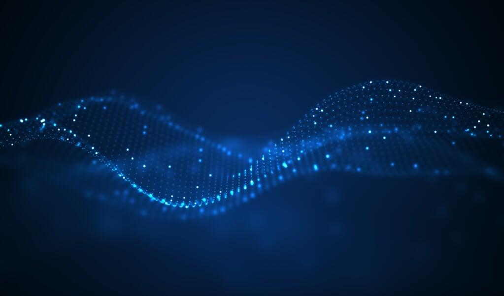 Uit de geschiedenis van de natuurkunde kunnen we leren dat licht zich soms als een golfverschijnsel laat beschrijven en soms als een stroom deeltjes.  (beeld Getty Images/iStockphoto)