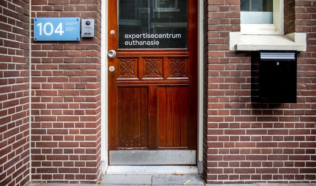 Het Expertisecentrum Euthanasie in Den Haag.  (beeld anp / Remko de Waal)