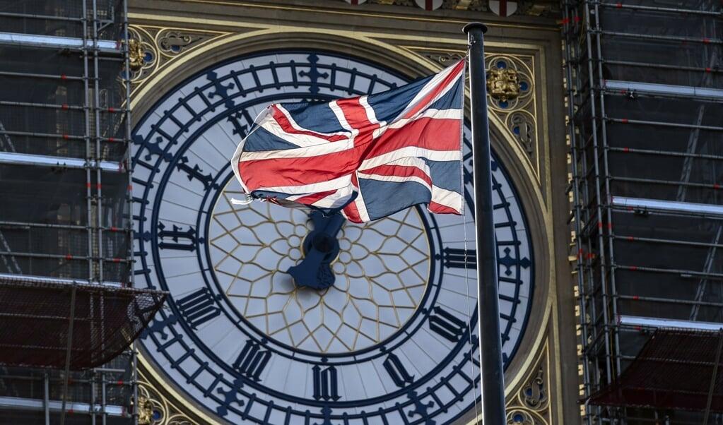 De tijdklok van 'Big Ben'.  (beeld  epa / Will Oliver)