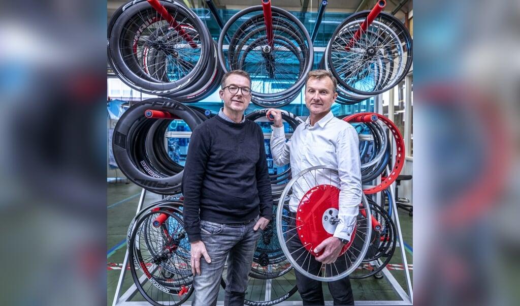 Directeuren Wouter (links) en Maarten van Doornik  (beeld Raymond Rutting)