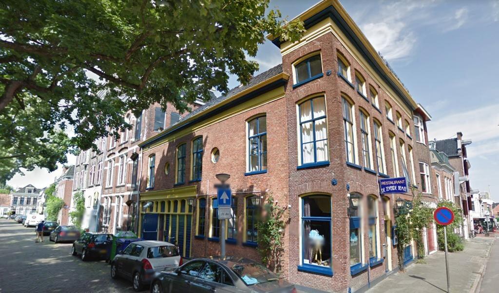 In zijn smederij aan de Nieuwe Kerkhof begon Albert Fongers met de productie van de naar hem genoemde fietsen.  (beeld  google maps)