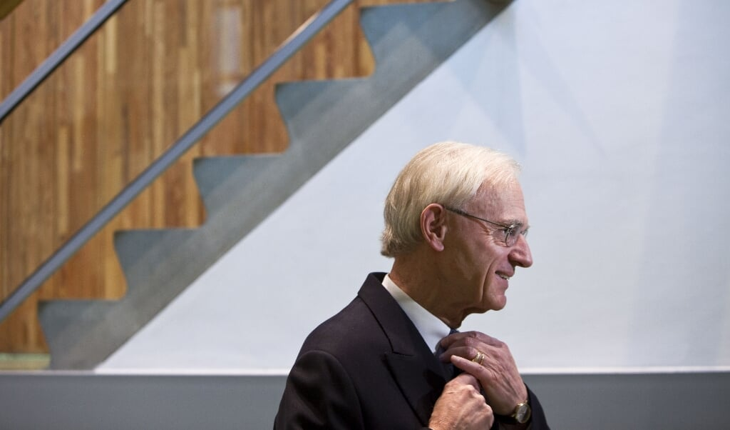 Streng maar rechtvaardig was de lijn van Onno Ruding tijdens zijn ministerschap van Financiën.  (beeld anp / Phil Nijhuis)